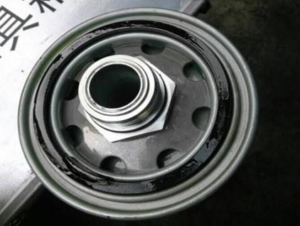 油滤外置密封圈破裂故障